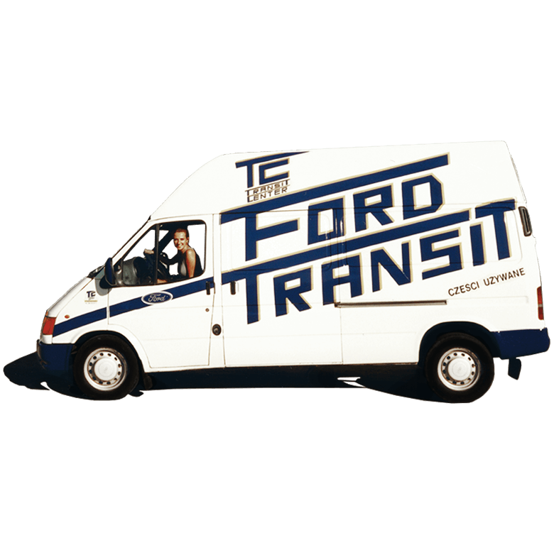 Ford Transit MK5 Transit Center Istoria